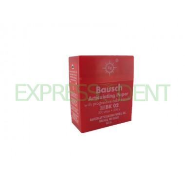 Артикуляционная бумага BK02 200мкм красная, 300шт.