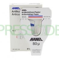 Артикуляционная бумага 480364 Hanel 80мк, Coltenе, 6шт.
