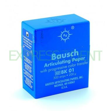 Артикуляционная бумага BK01 200мкм синий, 300шт.