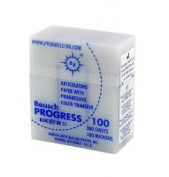 Артикуляционная бумага BK51 100мкм синий, 300шт. пластик