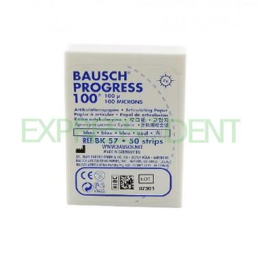 Артикуляционная бумага BK57 100мкм синий с высоким содержанием армирующих волокон, 50шт.