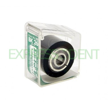 Артикуляционная фольга BK26, 8мк зеленая двухсторонняя, 20м рулон