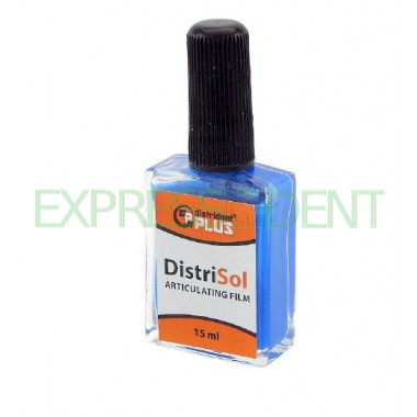 Артикуляционная краска синяя Дистридент, 15мл