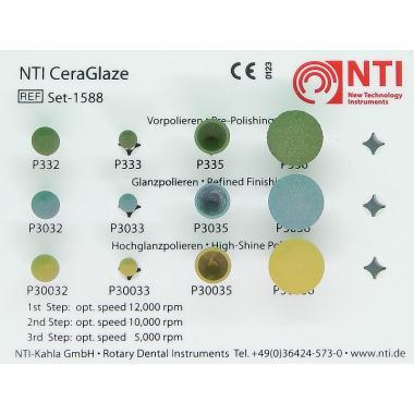 Полир CeraGlaze алмазосодержащий для керамики, NTI, в асс., 1шт.