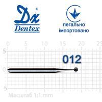 Бор  Dentex, алмазный на турбинный наконечник, 103, диаметр 012, 1шт.