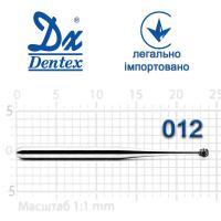 Бор  Dentex, алмазный на турбинный наконечник, 103L, диаметр 012, 1шт.