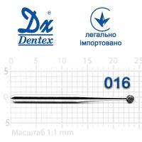 Бор  Dentex, алмазный на турбинный наконечник, 105L, диаметр 016, 1шт.