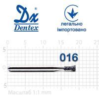 Бор  Dentex, алмазный на турбинный наконечник, 135 диаметр 016, 1шт.