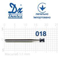 Бор  Dentex, алмазный на турбинный наконечник, 143 диаметр 018, 1шт. --