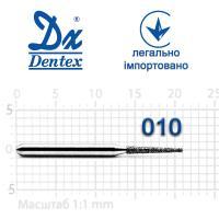 Бор  Dentex, алмазный на турбинный наконечник, 210 диаметр 010, 1шт.