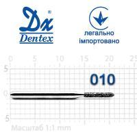 Бор  Dentex, алмазный на турбинный наконечник, 217 диаметр 010, 1шт.