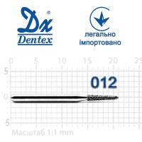 Бор  Dentex, алмазный на турбинный наконечник, 220 диаметр 012, 1шт.