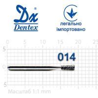 Бор  Dentex, алмазный на турбинный наконечник, 226 диаметр 014, 1шт.