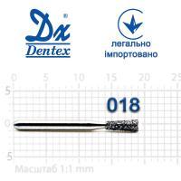 Бор  Dentex, алмазный на турбинный наконечник, 228 диаметр 018, 1шт. --