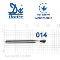 Бор  Dentex, алмазный на турбинный наконечник, 231 диаметр 014, 1шт. --
