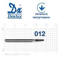 Бор  Dentex, алмазный на турбинный наконечник, 245 диаметр 012, 1шт.