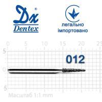Бор  Dentex, алмазный на турбинный наконечник, 251 диаметр 012, 1шт.