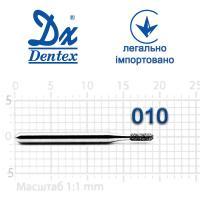 Бор  Dentex, алмазный на турбинный наконечник, 271 диаметр 010, 1шт.