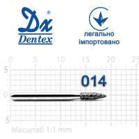 Бор  Dentex, алмазный на турбинный наконечник, 288 диаметр 014, 1шт. --