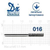 Бор  Dentex, алмазный на турбинный наконечник, 302B диаметр 014, 1шт.