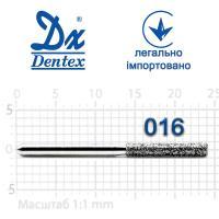 Бор  Dentex, алмазный на турбинный наконечник, 304C диаметр 016, 1шт.