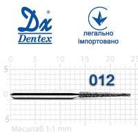 Бор  Dentex, алмазный на турбинный наконечник, 310 диаметр 012, 1шт.