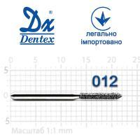 Бор  Dentex, алмазный на турбинный наконечник, 316 диаметр 012, 1шт.