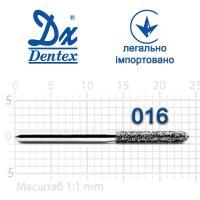 Бор  Dentex, алмазный на турбинный наконечник, 319 диаметр 016, 1шт.