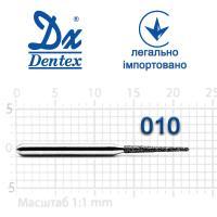 Бор  Dentex, алмазный на турбинный наконечник, 320A диаметр 010, 1шт.
