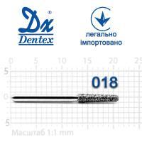 Бор  Dentex, алмазный на турбинный наконечник, 323B диаметр 018, 1шт.