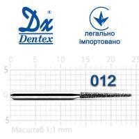 Бор  Dentex, алмазный на турбинный наконечник, 324 диаметр 012, 1шт.
