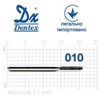 Бор  Dentex, алмазный на турбинный наконечник, 347 диаметр 010, 1шт.