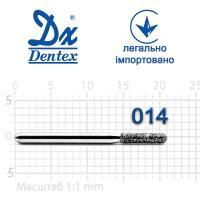 Бор  Dentex, алмазный на турбинный наконечник, 349 диаметр 014, 1шт.