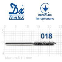 Бор  Dentex, алмазный на турбинный наконечник, 358 диаметр 016, 1шт.