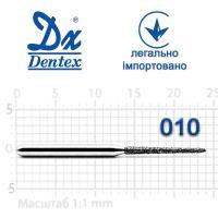 Бор  Dentex, алмазный на турбинный наконечник, 373A диаметр 010, 1шт.