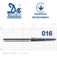 Бор  Dentex, алмазный на турбинный наконечник, 373L диаметр 016, 1шт.