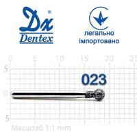 Бор  Dentex, алмазный на турбинный наконечник, 381 диаметр 023, 1шт.