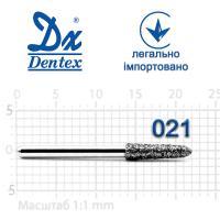 Бор  Dentex, алмазный на турбинный наконечник, 405 диаметр 021, 1шт.