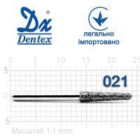 Бор  Dentex, алмазный на турбинный наконечник, 406 диаметр 021, 1шт.