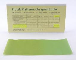Воск Бредент рифленая пластина, 43001625, 1шт.