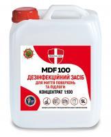 МД MDP 100, дезинфекция для мытья поверхностей, полов, концентрат 1:100, 5л