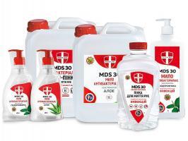 МД MDS 30, мыло антибактериальное с экстрактом Алое, 5л