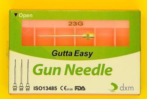 Игла для обтурации каналов гуттаперчей Gutta Easy DXM №23G, 6шт.