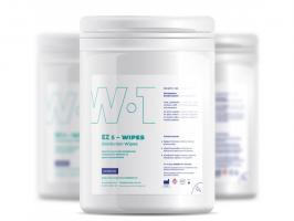 Салфетки Ezmedix EZs-wipes W-1  дезинфицирующие, пропитка спиртовым раствором, 160*160мм, 160шт.