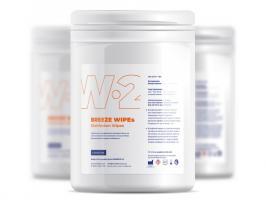 Салфетки Ezmedix EZs-wipes W-2  дезинфицирующие, пропитка дезраствором, 160*160мм, 160шт.