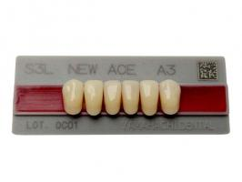 Зубы Yamahachi, фронт.группа, A3, L6 низ, 6шт.