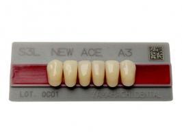 Зубы Yamahachi, фронт.группа, A3,5 S4L низ, 6шт.