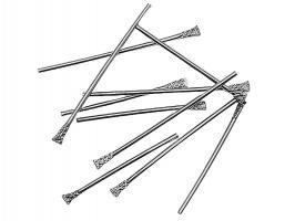 Кламмеры стальные для фиксации зуб.протеза, d-1мм, 500шт.