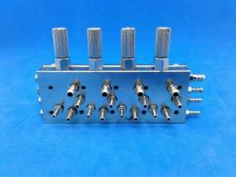 Клапан выбора инструмента 4-х-канальный НТ-083-2