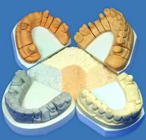 Гипс супергипс Hinriplast N, слоновая кость, 2,5кг, 4 класса модифицированный акрилом